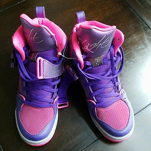 171df8b669e Jordan Other - RARE Brand New Pink/Purple Jordan Kids 4.5 (5-6